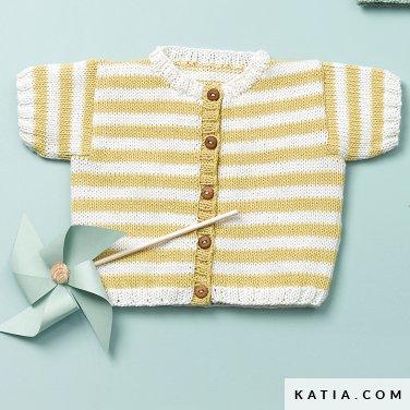 patron-tejer-punto-ganchillo-bebe-chaqueta-primavera-verano-katia-6120-46-p