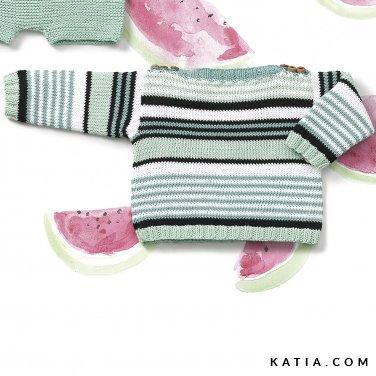 patron-tejer-punto-ganchillo-bebe-jersey-primavera-verano-katia-6120-36-p