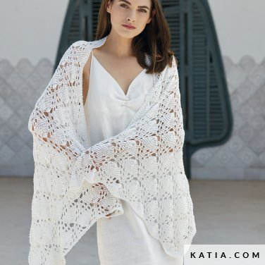 patron-tejer-punto-ganchillo-mujer-chal-primavera-verano-katia-6123-34-p