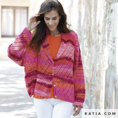 patron-tejer-punto-ganchillo-mujer-chaqueta-primavera-verano-katia-6122-20-p