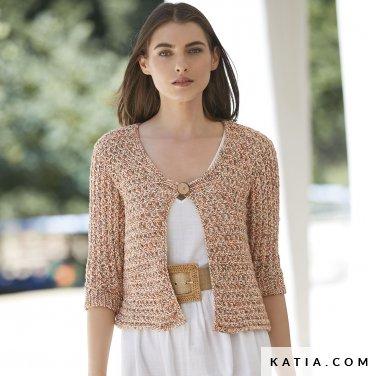 patron-tejer-punto-ganchillo-mujer-chaqueta-primavera-verano-katia-6123-22-p