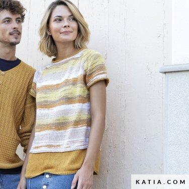 patron-tejer-punto-ganchillo-mujer-jersey-primavera-verano-katia-6122-12-p