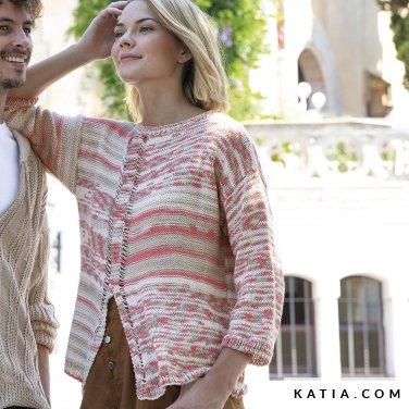 patron-tejer-punto-ganchillo-mujer-jersey-primavera-verano-katia-6122-14-p
