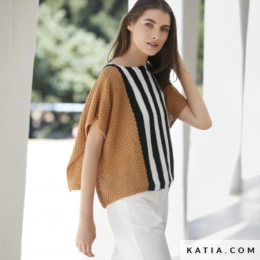 patron-tejer-punto-ganchillo-mujer-jersey-primavera-verano-katia-6123-19-p