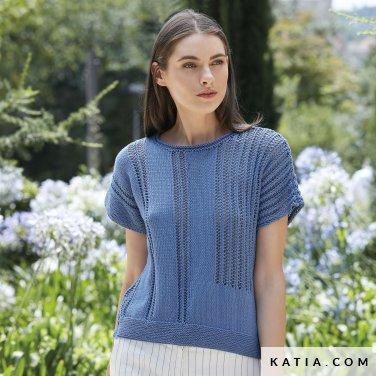 patron-tejer-punto-ganchillo-mujer-jersey-primavera-verano-katia-6123-4-p