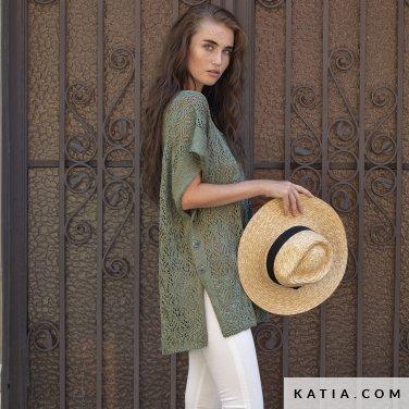 patron-tejer-punto-ganchillo-mujer-poncho-primavera-verano-katia-6122-42-p