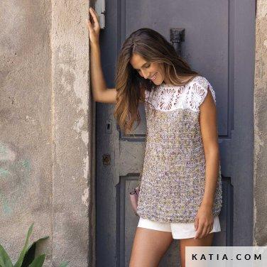 patron-tejer-punto-ganchillo-mujer-top-primavera-verano-katia-6122-28-p