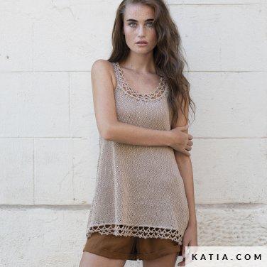 patron-tejer-punto-ganchillo-mujer-top-primavera-verano-katia-6122-46-p