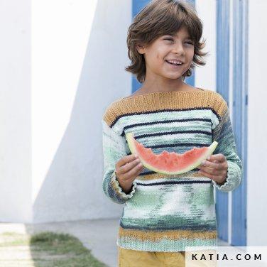 patron-tejer-punto-ganchillo-ninos-jersey-primavera-verano-katia-6121-22-p