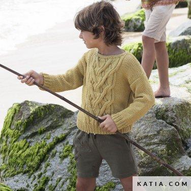 patron-tejer-punto-ganchillo-ninos-jersey-primavera-verano-katia-6121-38-p